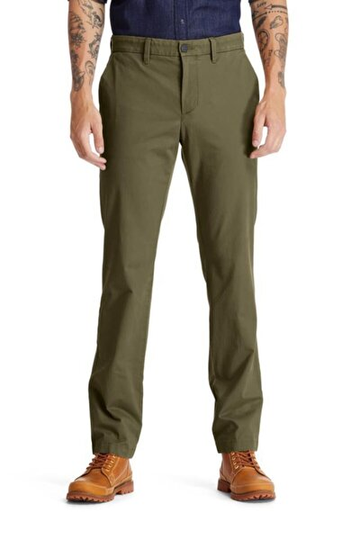 Squam Lake Stretch Twill Straight Chino Erkek Pantolon Haki