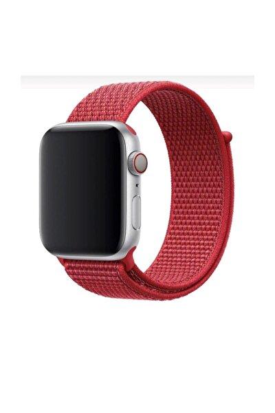 Apple Watch 1-2-3-4-5-6-se Serisi 38mm - 40mm Uyumlu Spor Kumaş Kordon