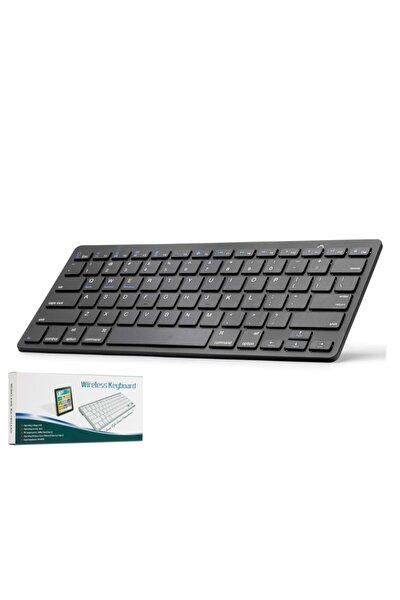 Hn806s Kablosuz Bluetooth Klavye Siyah Q