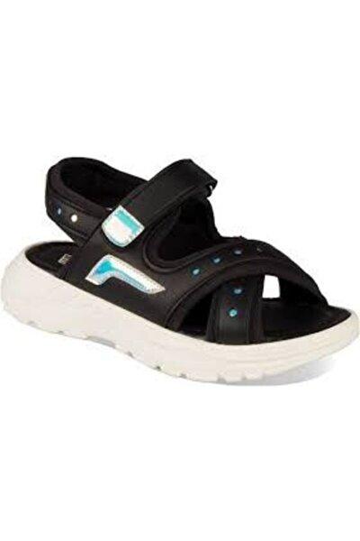 321.P20Y.367 Siyah Kız Çocuk Sandalet 100578784