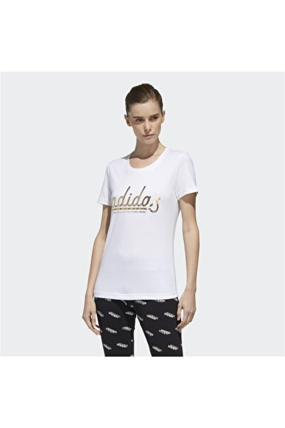 W COLGT FOIL T Beyaz Kadın T-Shirt 101117953