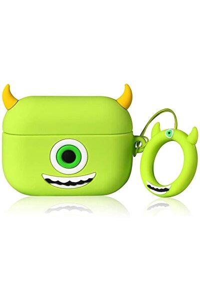 Airpods Pro Uyumlu Yeşil Monster Mike Kılıf