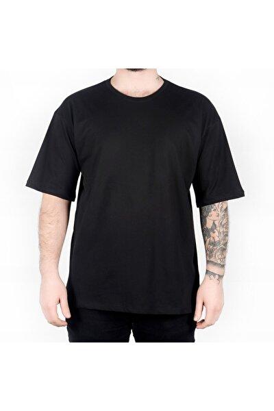 Erkek Siyah Basic T-shirt