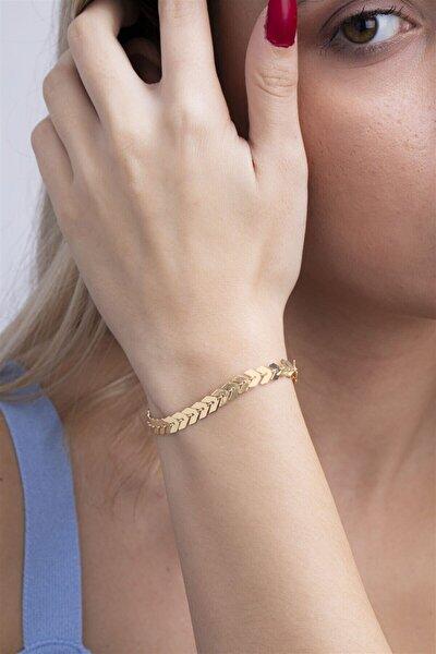 Kadın Altın Kaplama Bileklik