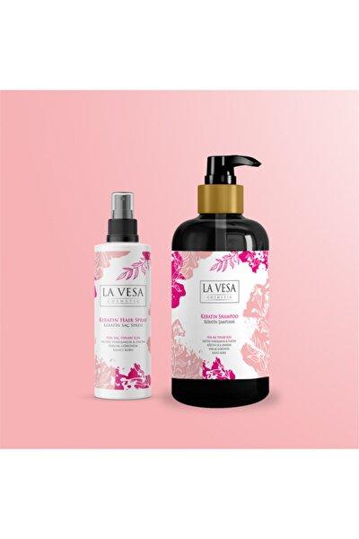 Keratin Saç Spreyi & Keratin Saç Şampuanı