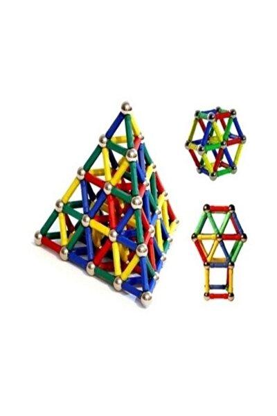 Manyetik Lego Seti Zeka Geliştirici Mıknatıslı Puzzle