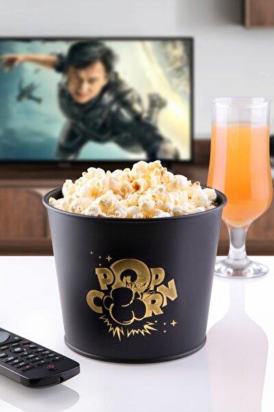 Baskılı Metal Popcorn Kovası