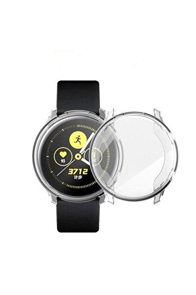 Samsung Galaxy Watch Active 2 44 Mm Önü Kapalı Silikon Kılıf