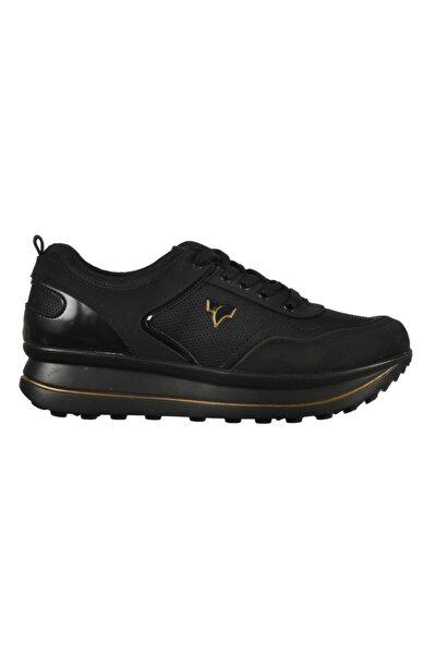Tıffany & Tomato 9173061 Z.ayk Siyah-altın Kadın Spor Ayakkabı