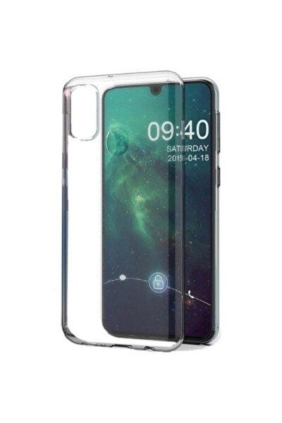 Galaxy M21 Kılıf + Ekran Koruyucu A+ Şeffaf Lüx Süper Yumuşak Ince Slim Silikon