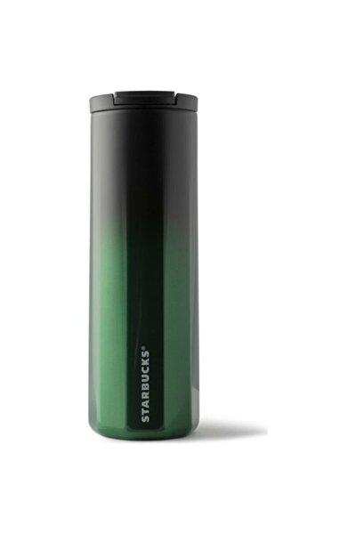 Siyah-yeşil Renk Geçişli Termos 473 ml