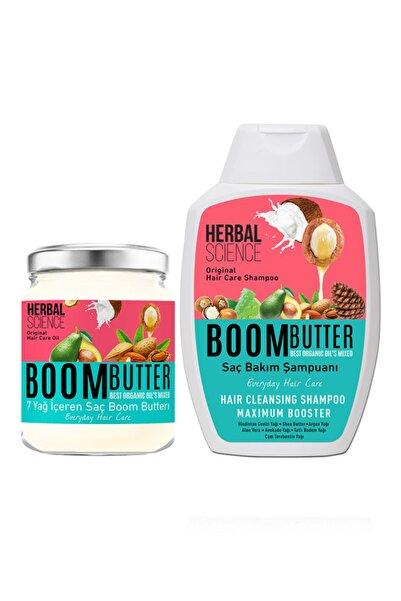 Boom Butter Saç Bakım Yağ ve Şampuan Paketi 8682427005466