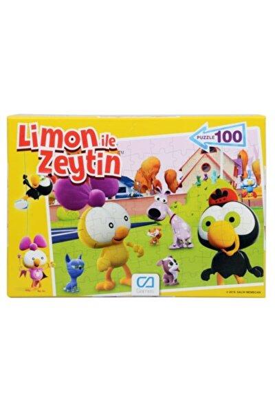 Limon ile Zeytin Puzzle 100 Parça Ca.505084