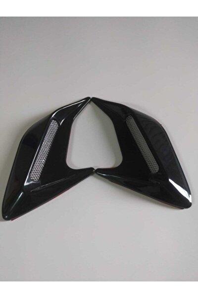 Üniversal Çamurluk Venti Sağ Sol Parlak Siyah Honda Tipi