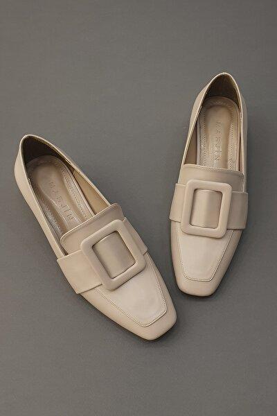Jiyona Kadın Klasik Topuklu Ayakkabıbej