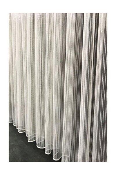 Çizgi Tül Perde 1/3 Pile 300x250