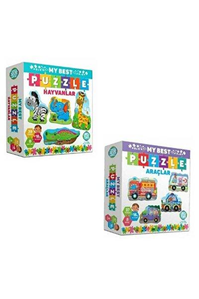 My Best Puzzle Hayvanlar Ve Araçlar Ikili Set