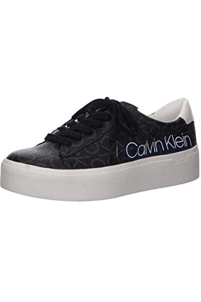 Kadın Siyah Bağcıklı Spor Ayakkabı