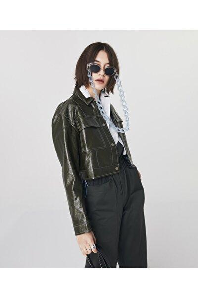 Rugan Crop Ceket