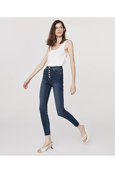 High Rise Skinny Fit Jean Pantolon