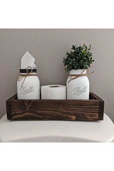 Banyo Depolama, Rustik Ev Dekorasyonu