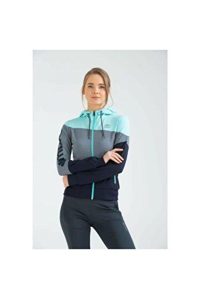Tift Sportswear Vc-0006 Z.sweat Yeşil-gri Kadın Sweatshirt