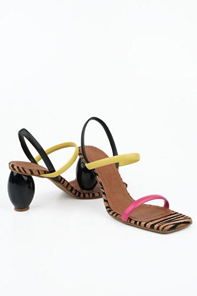 Kadın Multi 1 Topuklu Sandalet İnvez