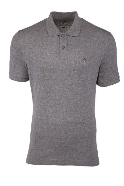 Erkek Büyük Beden Logolu Basic Polo Yaka T-shirt