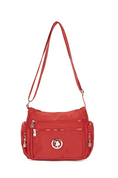 Kırmızı Kadın Postacı Çantası Us20349