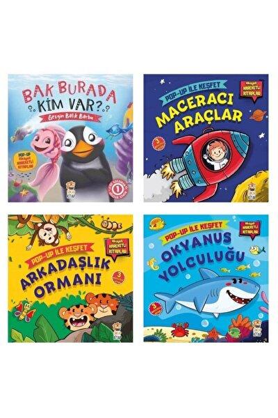 Sincap Pop Up Ile Keşfet Hikayeli Hareketli Kitaplar 4 Lü Set