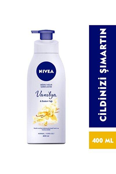 Pump Vanilya & Badem Yağı Vücut Losyonu 400 ml