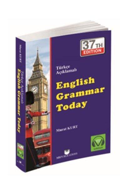 Türkçe Anlatımlı English Grammar Today