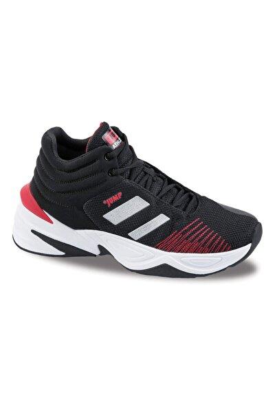 Unisex Siyah Günlük Ortopedik Basketbol Spor Ayakkabısı