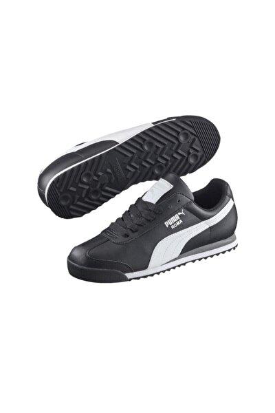 Unisex Siyah Roma Basic Spor Ayakkabı