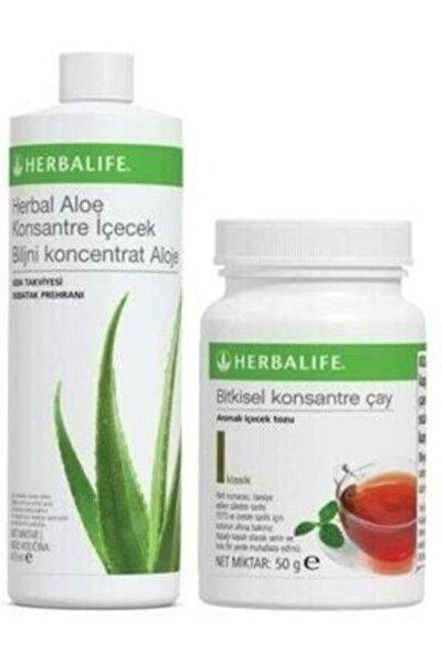 Aloekonsantre Içecek Suyu ve  Bitkisel Klasik Çay 50 gr