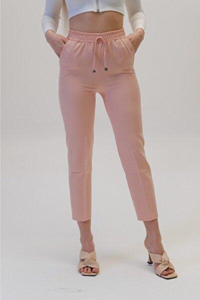 Kadın Bel Lastikli Havuç Pantolon