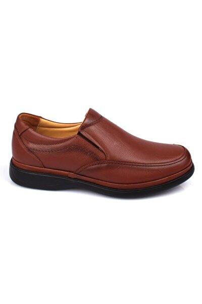 İç Dış Hakiki Deri Ortopedik Jel Taban Günlük Erkek Ayakkabı