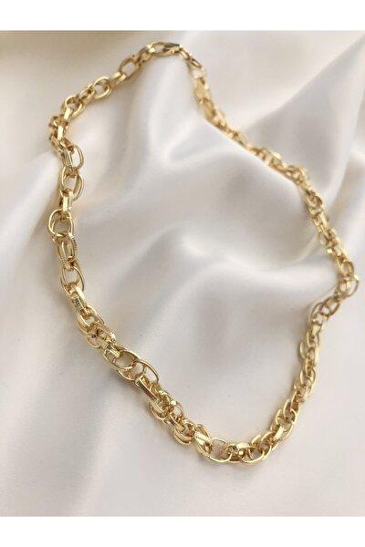 Kadın Gold Zincir Kolye