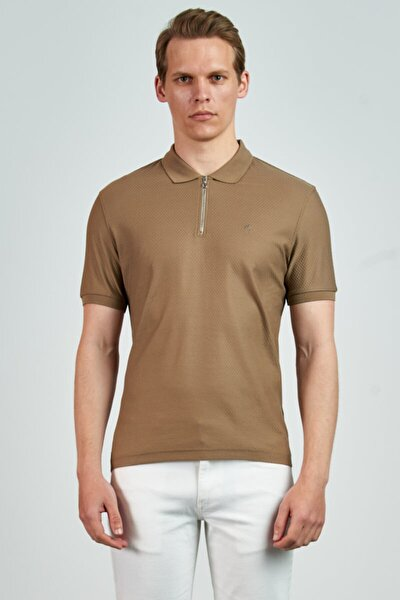 Erkek Kahverengi T-Shirt LC0655202135