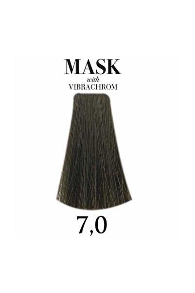 Mask Vibrachrom 7,0 Orta Kumral Saç Boyası 100ml
