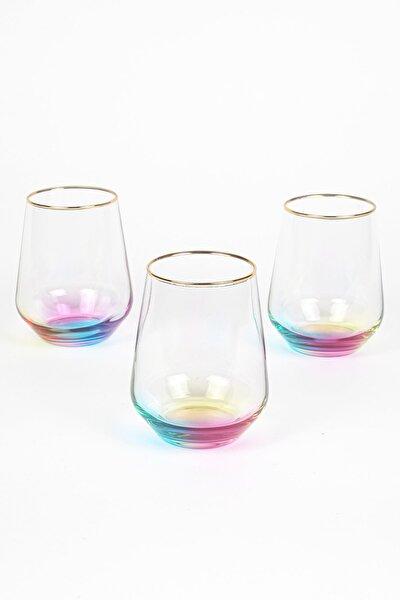 Rainbow 3'lü Su Bardağı Seti  425 cc