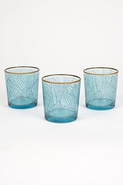 Exotic 3'lü Meşrubat Bardağı Seti_Mavi 380 cc