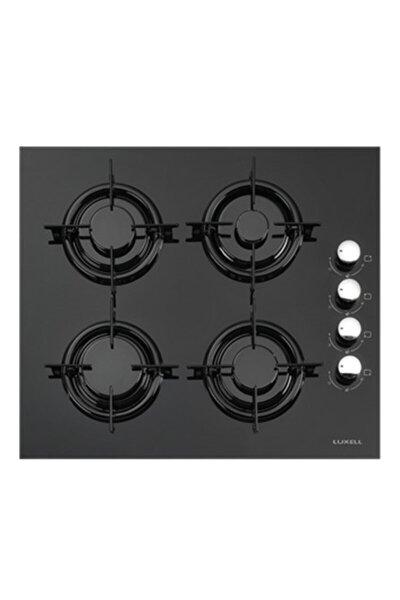 Lx-40tahdf Doğalgazlı Yandan Düğmeli Cam Siyah Ankastre Ocak