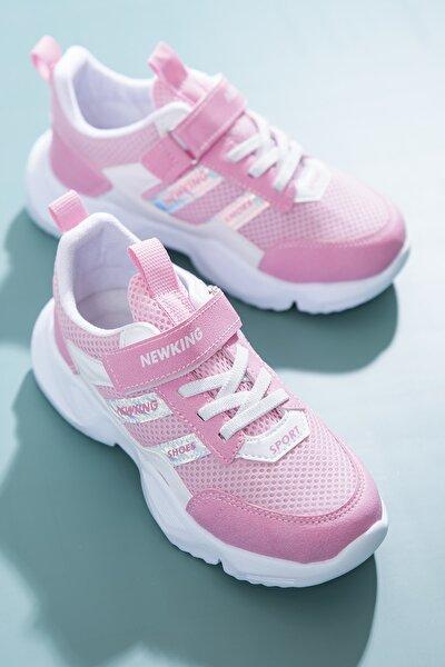 Çocuk Spor Ayakkabı Pembe Tbn006