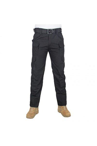 Unisex Siyah Tactical Outdoor Pantolon