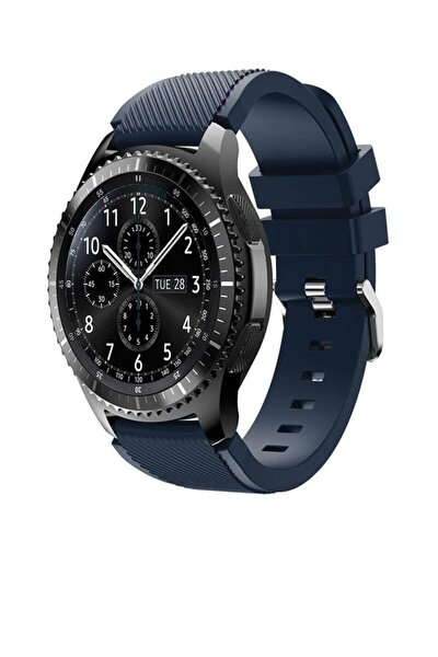 Huawei Watch Gt 46mm Sport Kordon Silikon Lacivert