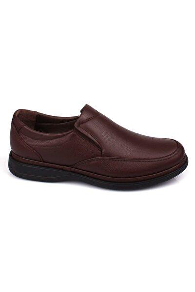 Iç Dış Hakiki Deri Ful Ortopedik Jel Taban Günlük Erkek Ayakkabı