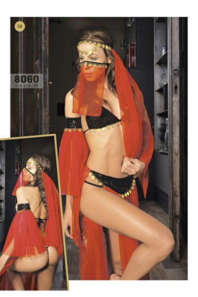 Kırmızı Tüllü Kostüm 8060