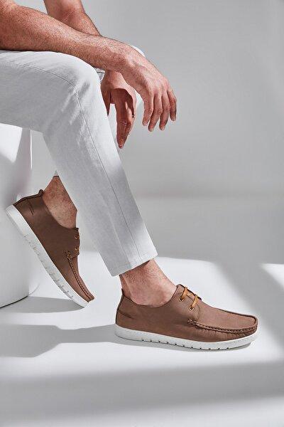 Hakiki Deri Kum Erkek Klasik Ayakkabı 02AYY601050A300