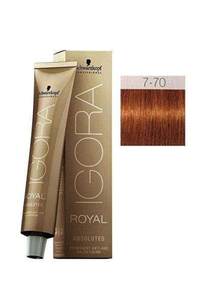 Saç Boyası -Royal Absolutes 7-70 Kumral-Doğal Bakır 4045787282535